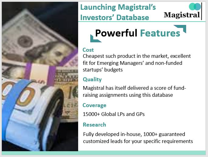 Magistral's Investor Database Features